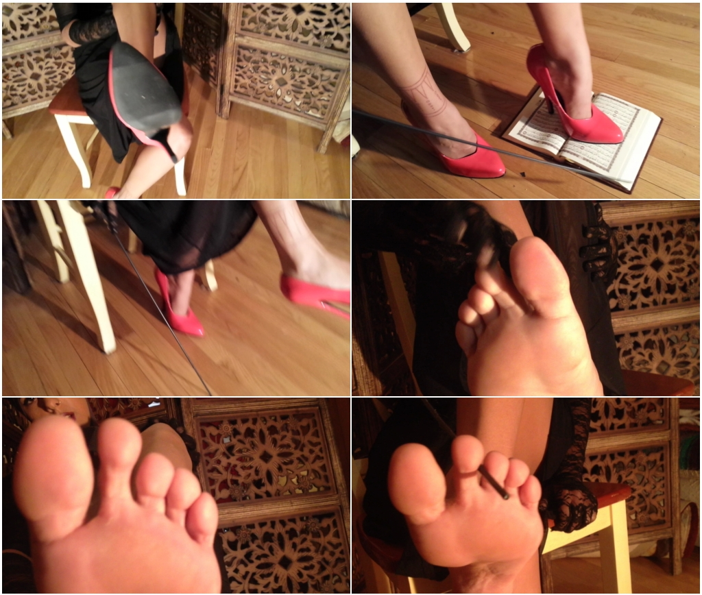 Mistress Shelby – Pampering the Arab Mistress