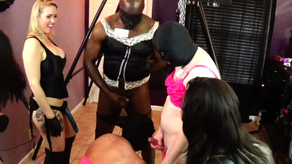 videos female domination forced feminization